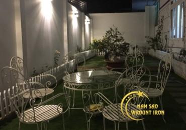 Bộ bàn ghế sân vườn BG4.006