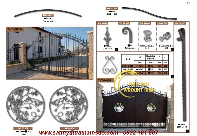Phụ kiện cửa sắt tại tphcm