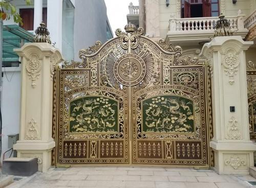 Cổng nhôm đúc giá rẻ số 1 tại thành phố Hồ Chí Minh bạn nên biết